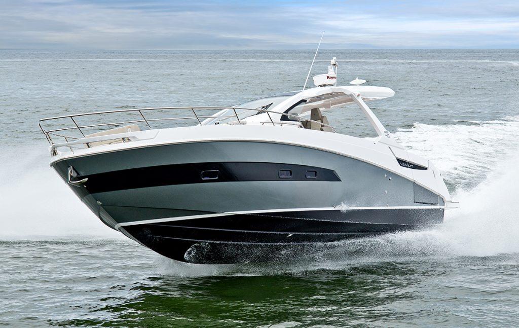 O Verve 40, da Azimut Yachts Brasil, será exibido no Miami Open